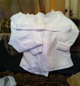 Кимоно для занятий КАРАТЭ или тхеквандо