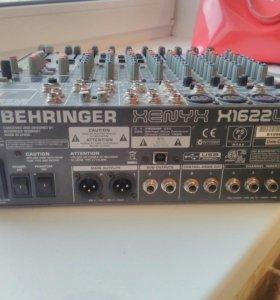 Микшерный пульт Behringer xenyx 1622usb