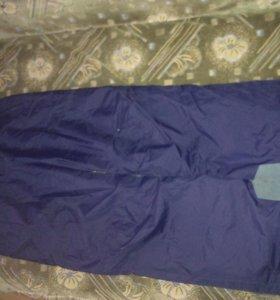 Зимние брюки 46-48размер