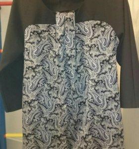 Нарядное платье-туника для беременных