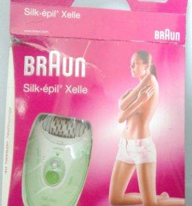 Эпилятор для удаления волос BRAUN Silk-epil Xelle