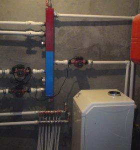 Водопровод и монтаж систем отопления