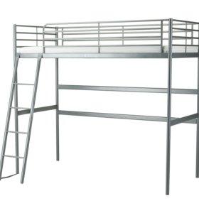 Кровать - чердак Икеа ( корпус,  без матраца)