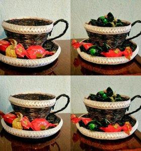 Конфетница, подарок, украшение на кухню