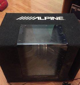 Сабвуфер Alpine 800W