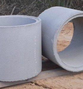 Бетонные кольца для септиков колодцев с доставкой