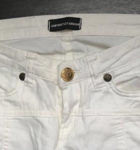 Узкие брюки Emporio Armani-оригинал