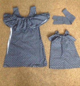 Продаются платья в стиле фэмили лук