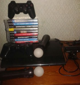 Консоль PS3 супер слим 500гб