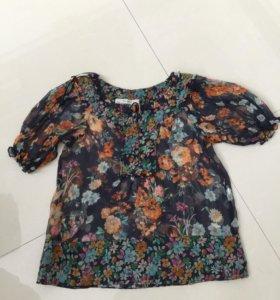Шифоновая блуза Zara размер S
