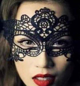 Кружевная маска