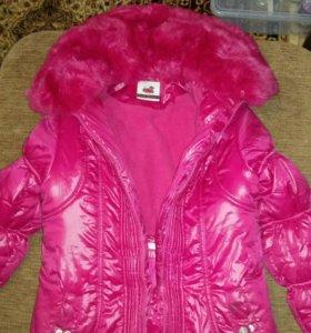 Куртка зимняя размер 152