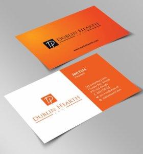 Дизайн визитки, баннера