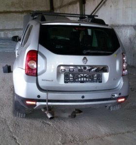 Фара левая фонарь левый Рено дастер Renault duster