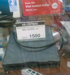 """Дисковод для дискет FDD 3.5"""" б /у"""