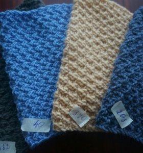 Детский шарф снуд