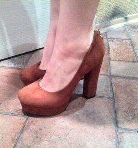 Туфли (замшевые)