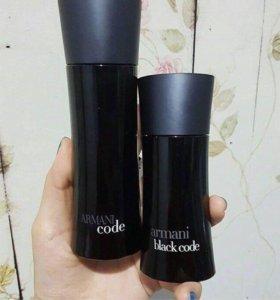 Armani black code men 100 ml.