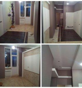 "Ремонт квартир ""под ключ"" и частично."