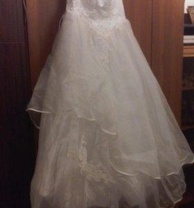 Свадебное платье 48 размер