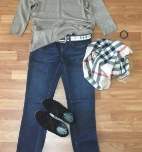 Джемпер/ джинсы