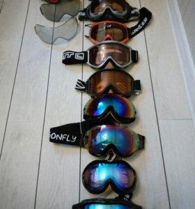 Маски для сноуборда и горных лыж