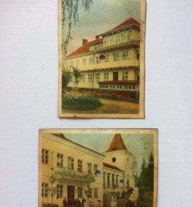 Пластинки-открытки СССР