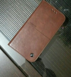Чехол кожаный на Huawei p9