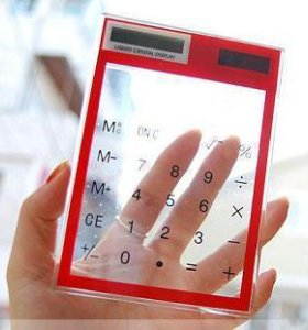 Сенсорный калькулятор .