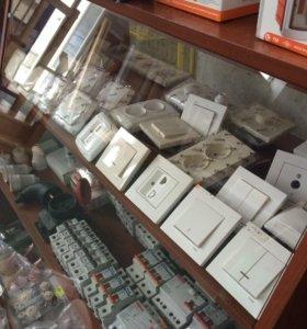 Продам розетки, выключатели, автоматы
