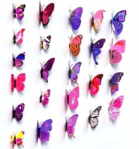 3D Бабочки магнитики