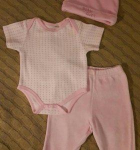Одежда для девочки (0-3мес)