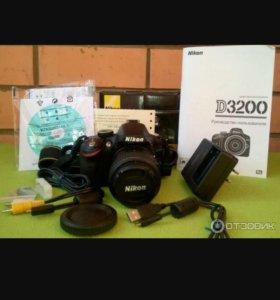 Зеркальный фотоаппарат Nikon D3200 18-55 ii Kit