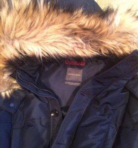 Пальто-пуховик Zara