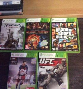 Продам Игры для xbox 360 оригинал