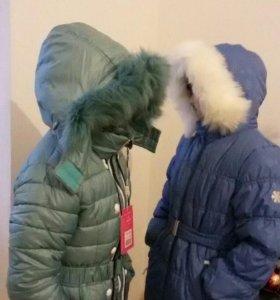 Пальто детское (новое)
