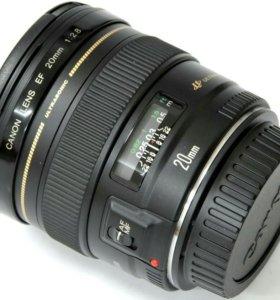 Объектив Canon 20 mm 2.8