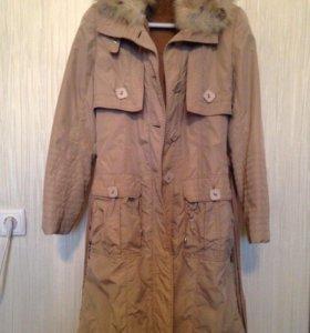 Зимняя куртка на натуральном меху Diego M