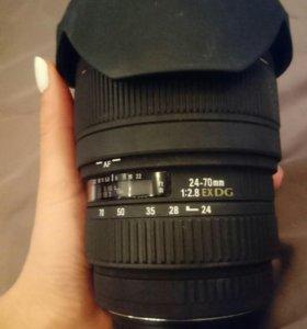 Объектив Sigma 24-70mm Canon