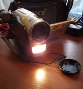 Видеокамера JVC GR-SXM49E + сумка, кассеты