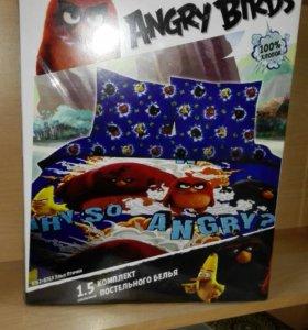 Постельное бельё Angry birds
