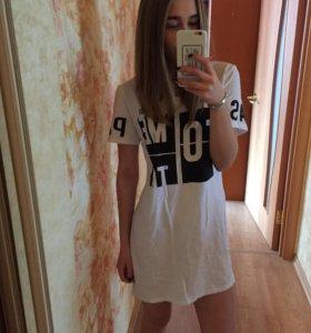 Платье -футболка