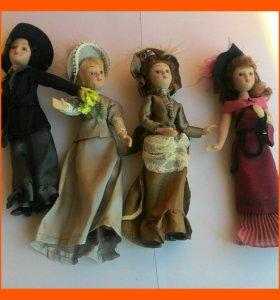 Фарфоровые коллекционные куклы.