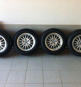 Комплект колес для БМВ на зимней резине