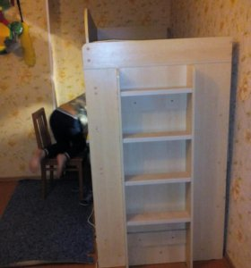 Кровать-чердак-шкаф