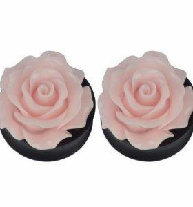Плаги розы 14 мм