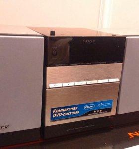 DVD микросистема HI-FI Sony CMT-DF1