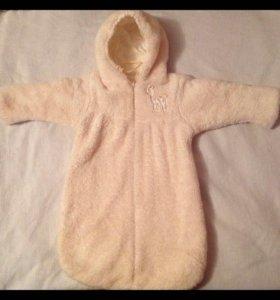 Конверт,комбенизон,одежда для новорожденного