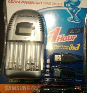 Аккумуляторная зарядка samsung на 6 шт