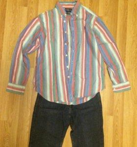 Рубашка RalphLauren на подростка  146-152